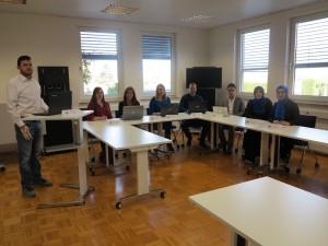 SEO- und Monitoring-Team des Social Media Balloon