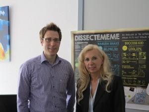 Smart Service und Industrie 4.0: Herr Stocker und Frau Prof. Dr. Sonja Salmen im Anschluss an das Interview
