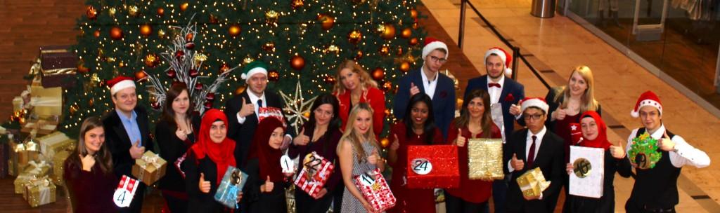 Weihnachten beim Social Media Balloon