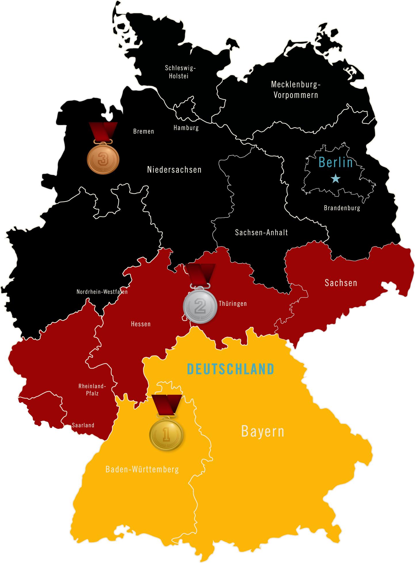 """Deutschlands App-Champion des Handwerks aus Stuttgart."""" Das könntest auch du sein - hilf uns, die Karte zu füllen!"""