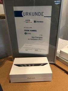 Preis für Platz 2: iPad mini