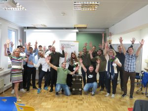 Social Media Balloon Team beim Workshop SAP Next-Gen Lab